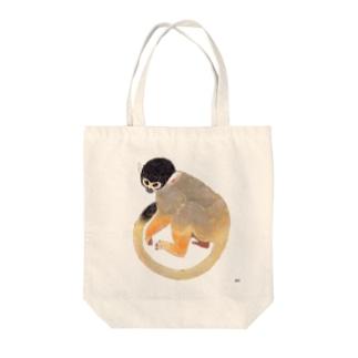 ボリビアリスザル Tote bags