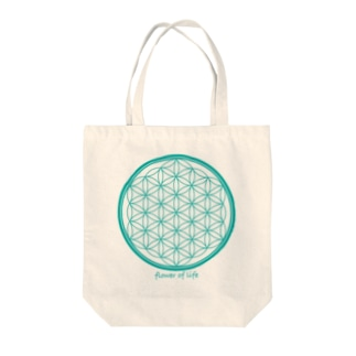 flower of life A Tote bags