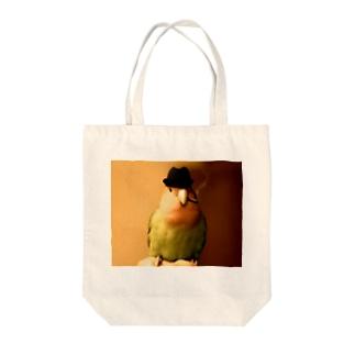 はまきインコ Tote bags