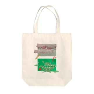 わたがしとメロンソーダ Tote bags