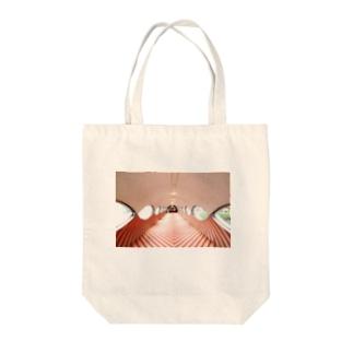 ショウワ・レトロ・トンネル Tote bags