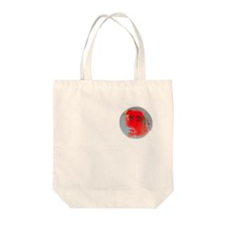 赤丸 Tote bags