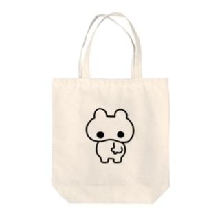 うさぎのTAMTAP Tote bags