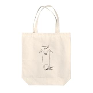 ゆるねこ Tote bags