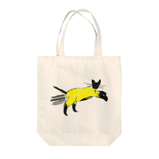 horimotoxxyukiのflying cat トートバッグ
