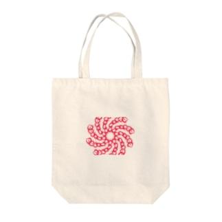 トルネード・チェーン Tote bags
