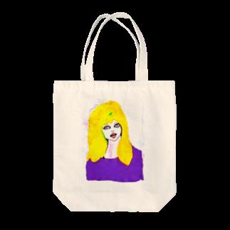 megumiillustrationのIt Girl  Tote bags