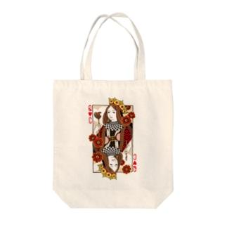 チョコレートクイーン Tote bags
