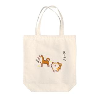 ハチローくんの夢 Tote bags