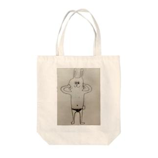 うさぎのKA☆RA☆DA Tote bags