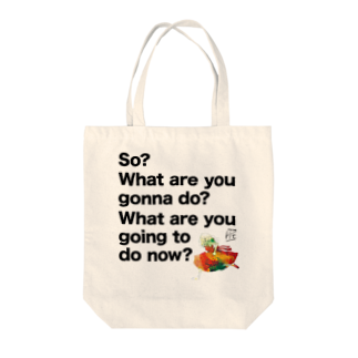 hrccntのハルカカナタグッズ 斎藤モデル Tote bags