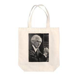 バートランド・ラッセル Tote bags