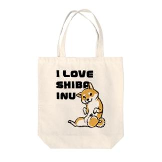 I LOVE SHIBAINU Tote Bag