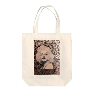 マリリンモンロー Tote bags