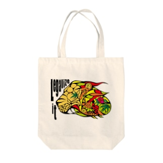 AKRstyle - JAH LION Tote bags