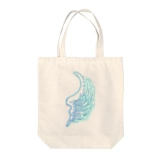sinobuの羽根 Tote bags