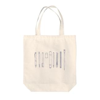 仕事・趣味の文房具たち Tote bags