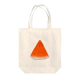 すいか Tote bags