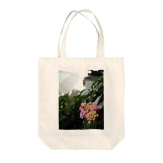 咲き始めの紫陽花 Tote bags