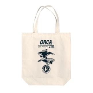 オルカライトハウス・スーベニール Tote bags