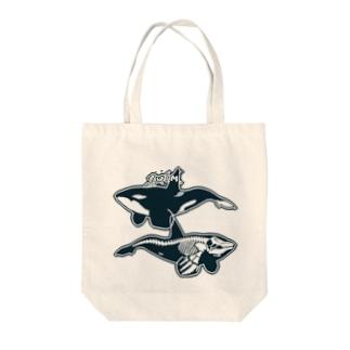 オルカライトハウス・スーベニールシンプル Tote bags