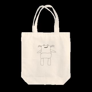 しょうじのカニマン Tote bags