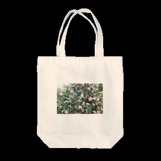 かわいいですよねの雰囲気のあるお花フォト Tote bags