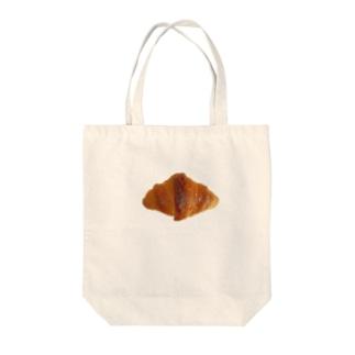 クロワッサン Tote bags