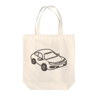 HONDA CIVIC SEDAN 風 Tote bags