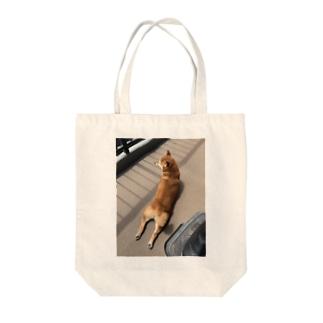 ハナちゃんのダブルチキン Tote Bag