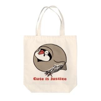 イワシャコの存在が正義 Tote bags