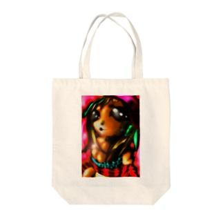 もえニャン Tote bags