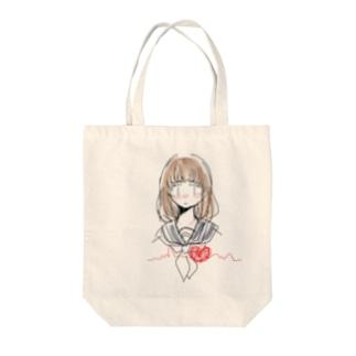 恋するキモチ。 Tote bags
