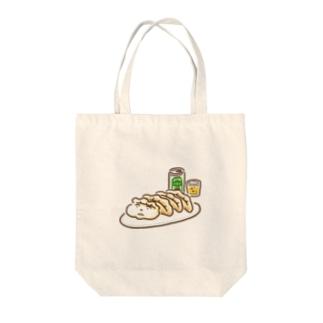 餃子ビール(カラフル) Tote bags