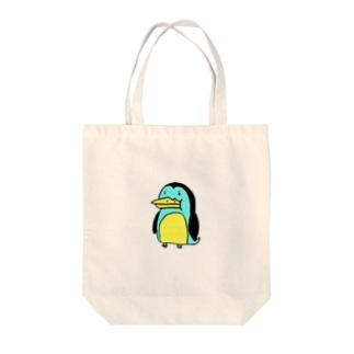 ペンギン君 Tote bags