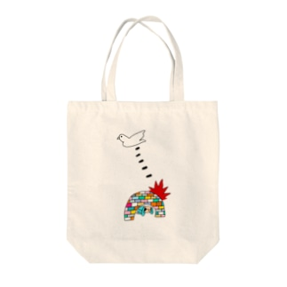 BOMB & PEACE Tote bags