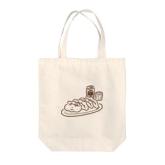 餃子ビール(シンプル) Tote bags