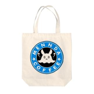 めんだこコーヒー店 Tote bags