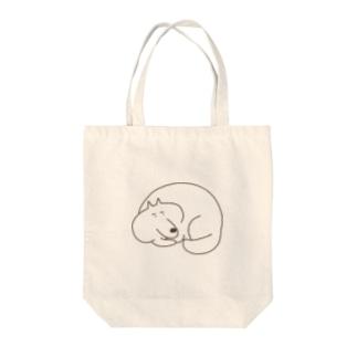 いぬまゆげ Tote bags