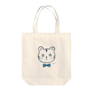トラくん Tote bags