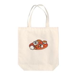 ちみピッツァ Tote bags