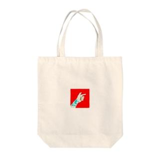 ばきゅん Tote bags