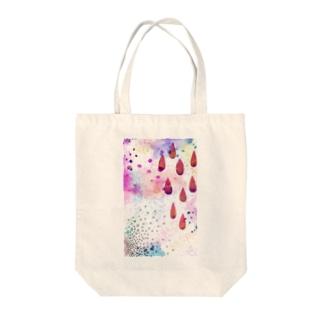 もやもや水彩 Tote bags