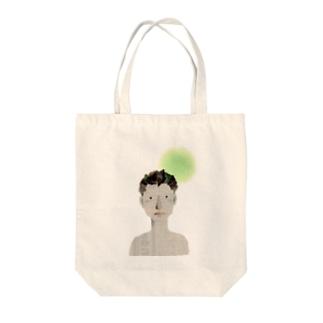 おにいさん Tote bags