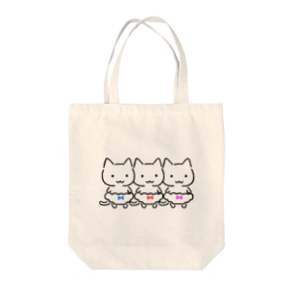 三色ぱんつ Tote bags