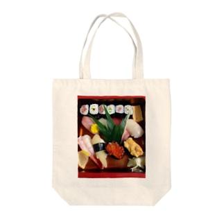 NahunggoのSUSHI  Saikoo! Tote bags