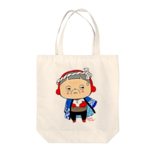 祭りぢゃ Tote bags