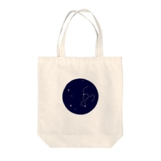 オリオン座と冬の大三角 Tote bags