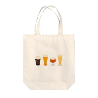 あわあわビール Tote bags