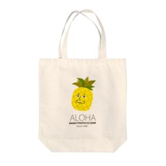 パイナップルさん Tote bags